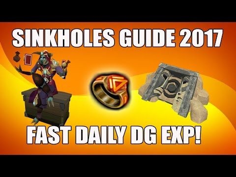 [Runescape 3] Ultimate Sinkholes Guide 2017 | Dungeoneering D&D | Fast daily DG exp