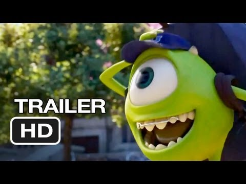 Monsters University New Trailer (2013) - Pixar Movie Hd video