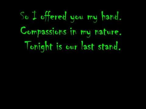 Scars By Papa Roach (lyrics) video