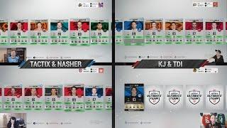 NHL 17 HUT - INSANE TOTY PACK WAR! w/ Nasher, TDI and KJ