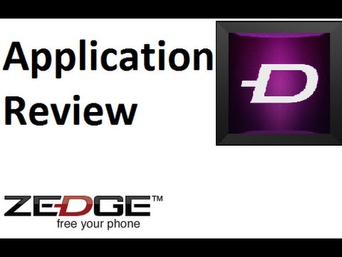 Application Review: Zedge (android) video
