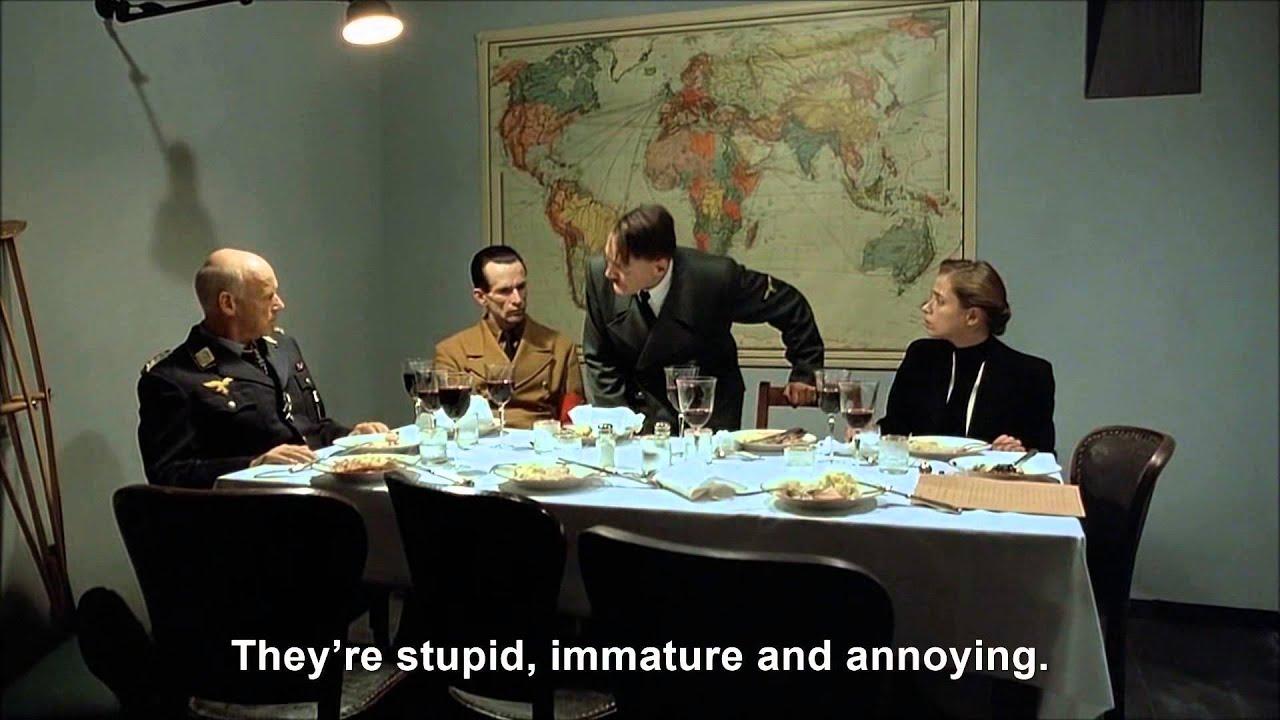 Hitler explains why Justin Bieber sucks