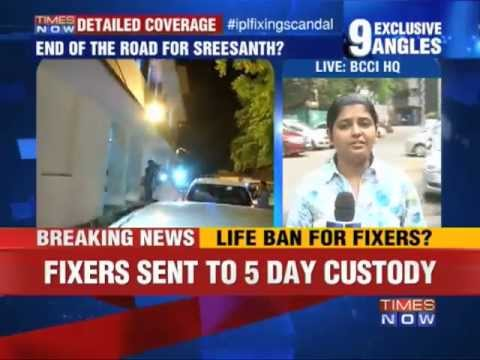 IPL Spot Fixing: Life ban for fixers
