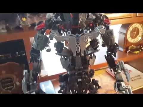 Lego Bionicle MOC - MAKUTA Teridax (Titan) обзор.