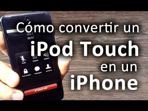Cómo convertir un iPod touch en un iPhone [Socblue bluetooth review & test en español]