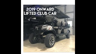2019 Onward Lifted Club car 6 passenger review with Rocky Rohde