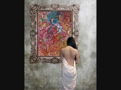 la pintura abstracta de María kettani