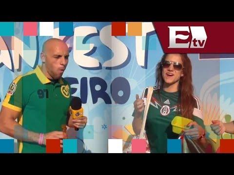 Reportero brasileño intenta enchilar a mexicanos y queda en ridículo/ Entre Mujeres