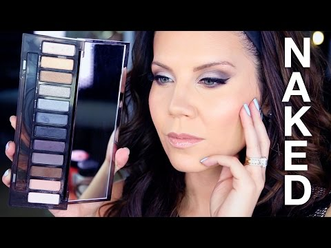 NEW Urban Decay NAKED SMOKY PALETTE   Tutorial