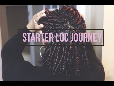 Starter Loc Journey | Start To 1st Retwist