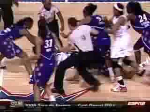Candace Parker WNBA Brawl 7.22.08