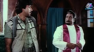 Sathyaraj and Sivaji Ganesan   Super Scene   Muthukkal Moondru