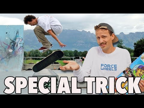Crazy Finger Flip! Impossible Tricks Of Rodney Mullen