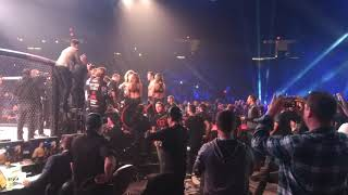 Chael Sonnen Walkout at Bellator 208