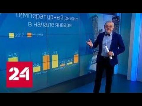 Погода 24: январские аномалии во всем мире - Россия 24
