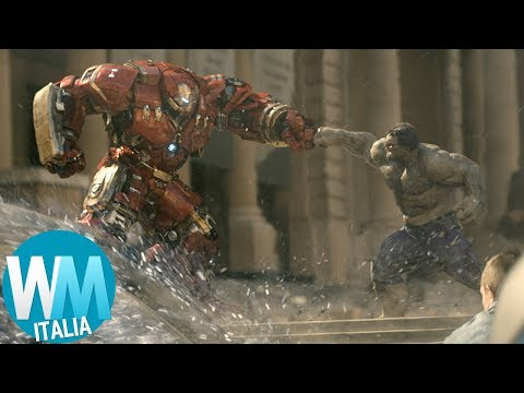 Top 10 SCENE D'AZIONE nei FILM MARVEL!