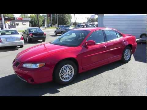 1998 Pontiac Grand Prix GT Start Up, Exhaust, and In Depth Tour