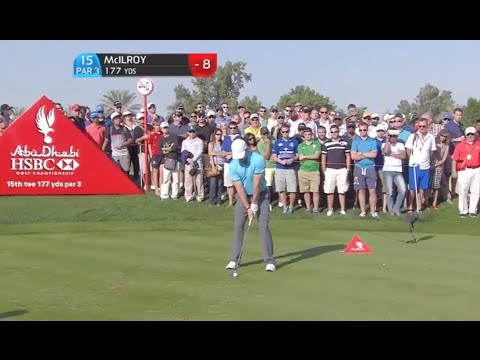 Rory McIlroy's Hole in One in Abu Dhabi