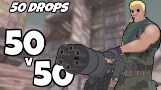 I Dropped 50v50 50 Times And This Is What Happened (Fortnite)