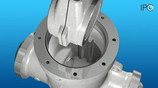 High Pressure Gate Valve - Assembly Animation