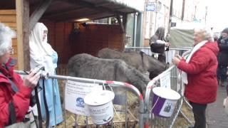 Chichester Woodland Crafts Christmas Market Mary Joseph And Baby Jesus Jólamarkaður