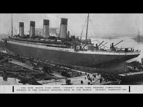 Titanic ship Dock at Belfast UK