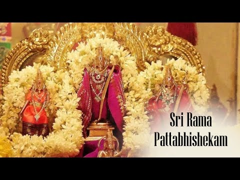 Sri Rama Pattabhishekam | Bhadrachalam Temple Official | Part 2