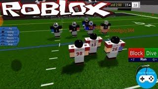 Roblox Legendary Football  / Gameplay / American football