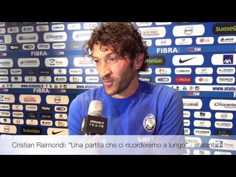 A fine partita, a commentare il successo sulla Lazio per 2-1 ecco CR77 ovvero Cristian Raimondi. Segui l'Atalanta su www.atalanta.it www.youtube.com/AtalantaBC1907 La videoformazione nerazzurra...