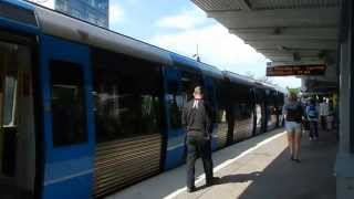 Stockholm - Station Tour - Brommaplan Station (Metro Green Line) and Bus Terminal 2015 07 04