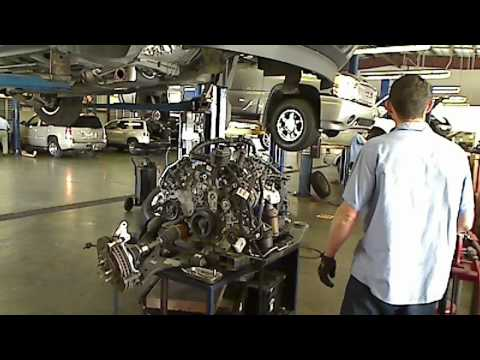 How To Take An Engine Out OF A Car GMC Acadia. Buick Enclave. Chevrolet Traverse