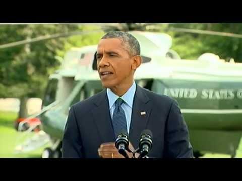 President Obama statement on Ukraine