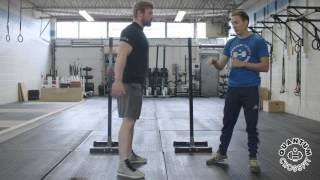 Back Squat Lesson 2  - Initiate With the Hips - Quanutm CrossFit Learn to Lift Series