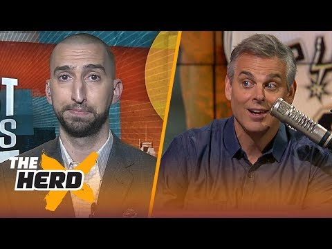 Nick Wright and Colin Cowherd on winners and losers in Kawhi's trade to Toronto   NBA   THE HERD