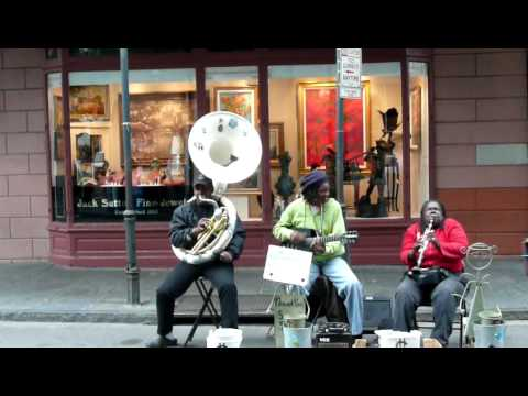 The best street Jazz, only in New Orleans!   Nov.20.09 Music Videos
