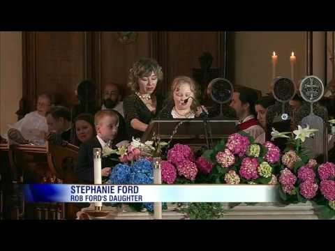 Video: Moments from Rob Ford's funeral