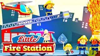 Permainan Anak Laki Laki 👨🚒 Stasiun Pemadam Kebakaran Kecil #GAMEANAKKECIL