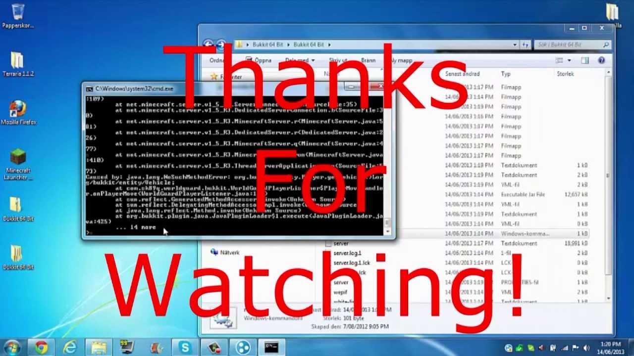 How To Make A Minecraft Bukkit Server Windows How To Make - Minecraft bukkit server 1 8 erstellen ohne hamachi