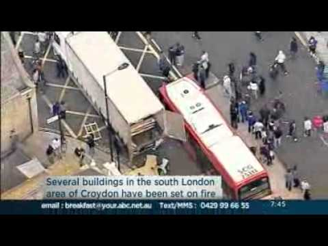 UK riots 2011: Australian woman caught up in London riots