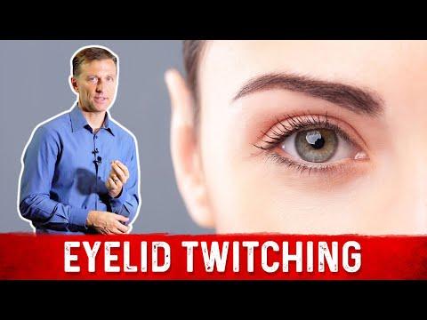 Facial eye tick symptoms vitamin deficiency