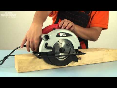 Black&Decker CD601A Circular Saw - w444w ENG