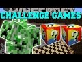 Minecraft: CREEP CHALLENGE GAMES - Lucky Block Mod - Modded M...