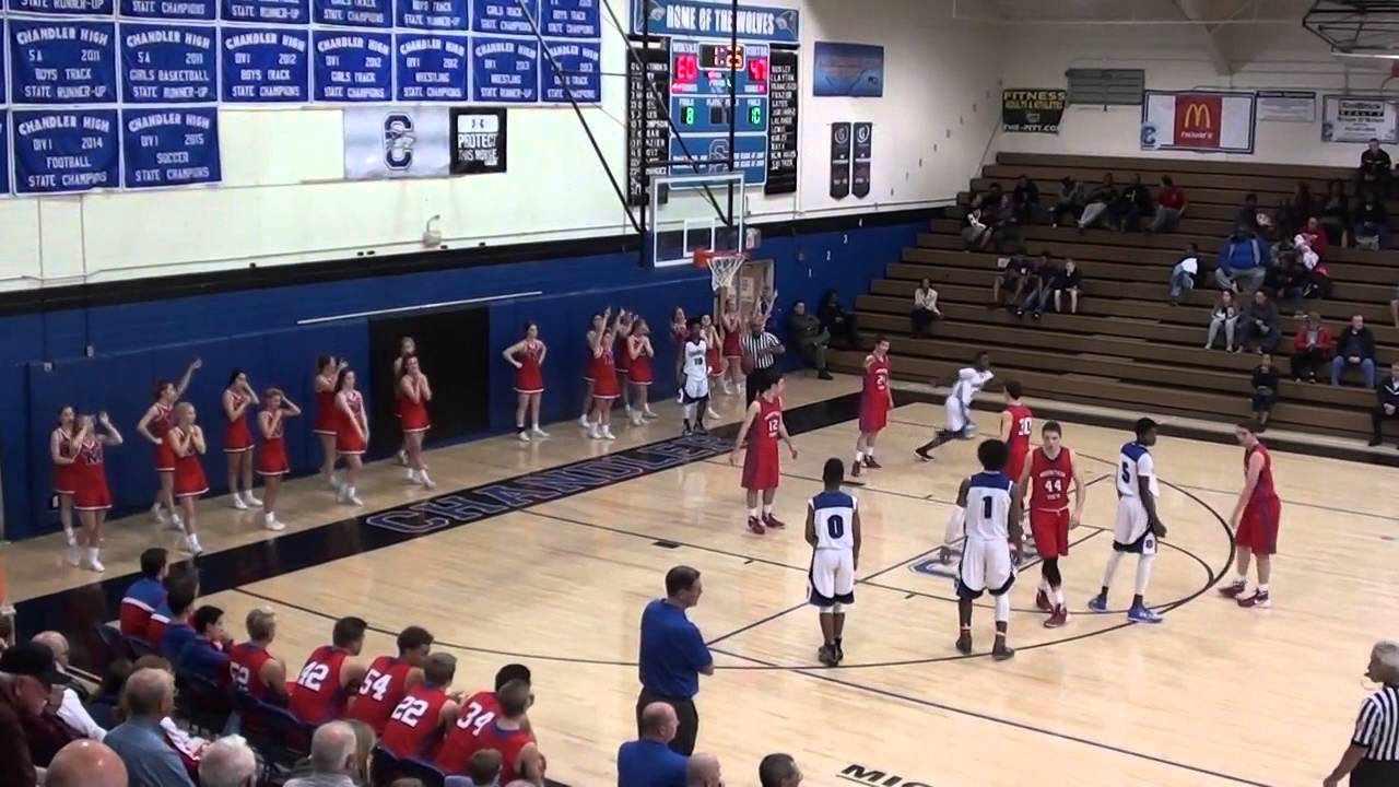 High School Player Shatters The Backboard On A Dunk
