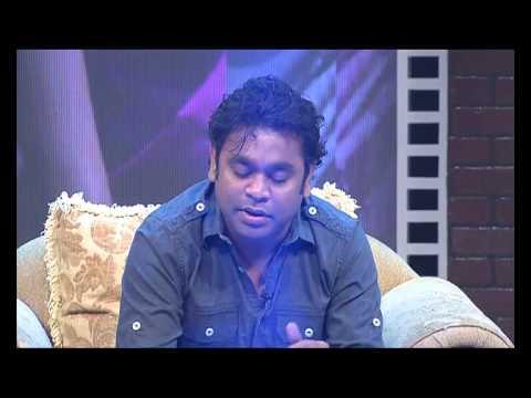 AR Rahman Singing Nenjae Ezhu