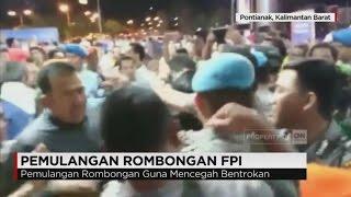 Polisi Pulangkan Rombongan FPI di Pontianak