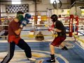 Amateur Sparring!! Robert Sherman vs. Louis Mendoza