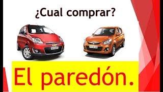 CHEVROLET SPARK vs SUZUKI ALTO K10| Como comparar auto Nuevo| El paredón.