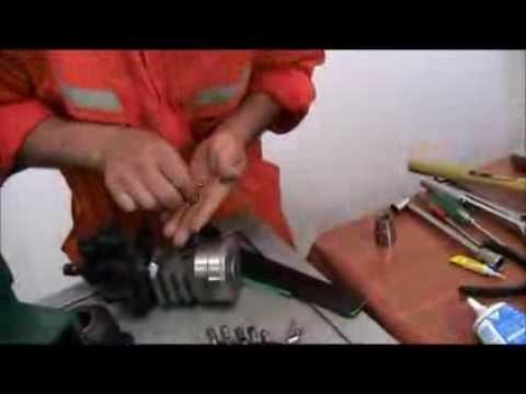 Reparación De Caja De Dirección Hidráulica Toyota (Parte 2)