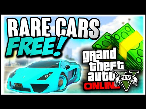 GTA 5 Online : FREE RARE CARS After Patch 1.22 - Secret Storable Vehic...