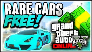GTA 5 Rare Cars : FREE RARE CARS 1.31 - Secret Storable Vehicles (GTA 5 Online Rare Cars Guide)